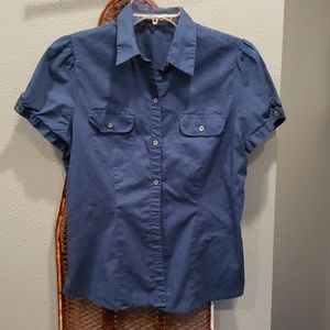 The Limited collared button down shirt